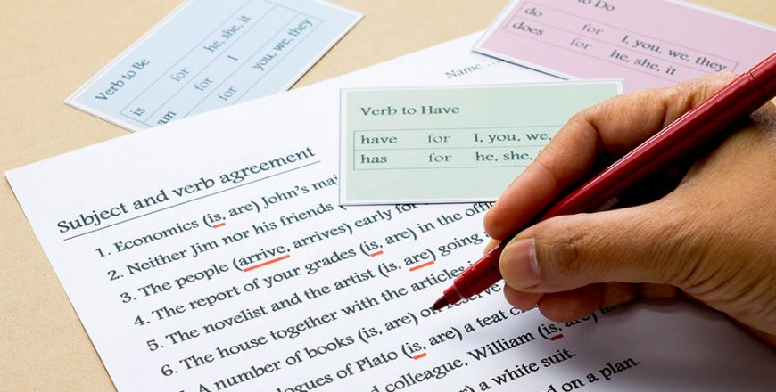 Grammar Refresher (Self-Paced Tutorial)