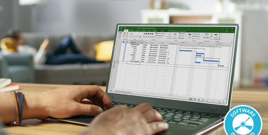 The Complete Project Manager with Microsoft Project 2019 (Software Included)